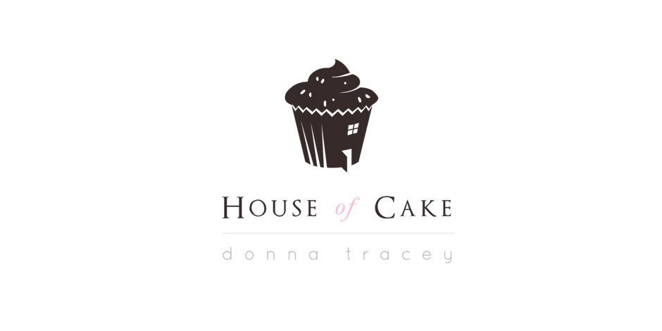 House of cake logo House of Cake Logo Design & Identity