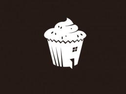 House of cake logo design
